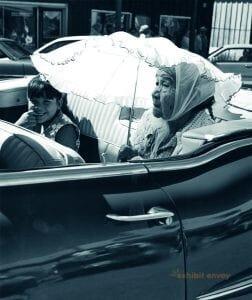 Mimi Mullen (Maidu), grand marshal, 1997 Greenville Gold Digger Days Parade