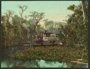 River Steamboat, Florida, 1902 (Library of Congress)